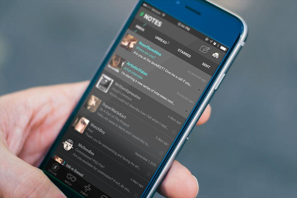 Mobile App | DeviantArt