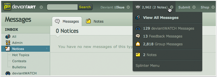 What is the Message Centre and how do I use it? – DeviantArt